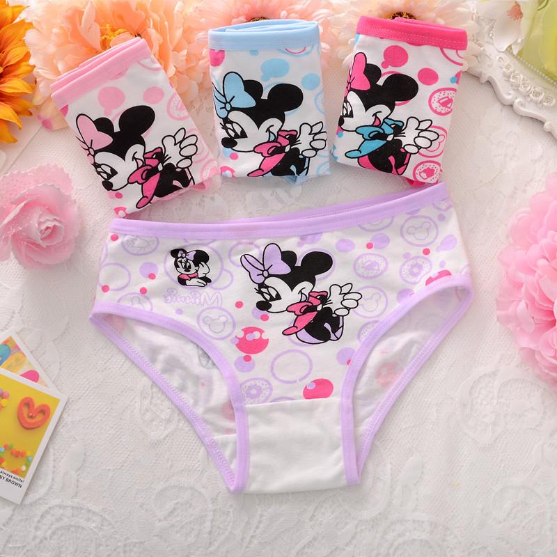กางเกงในเด็กลายการ์ตูน Mickey Minnie