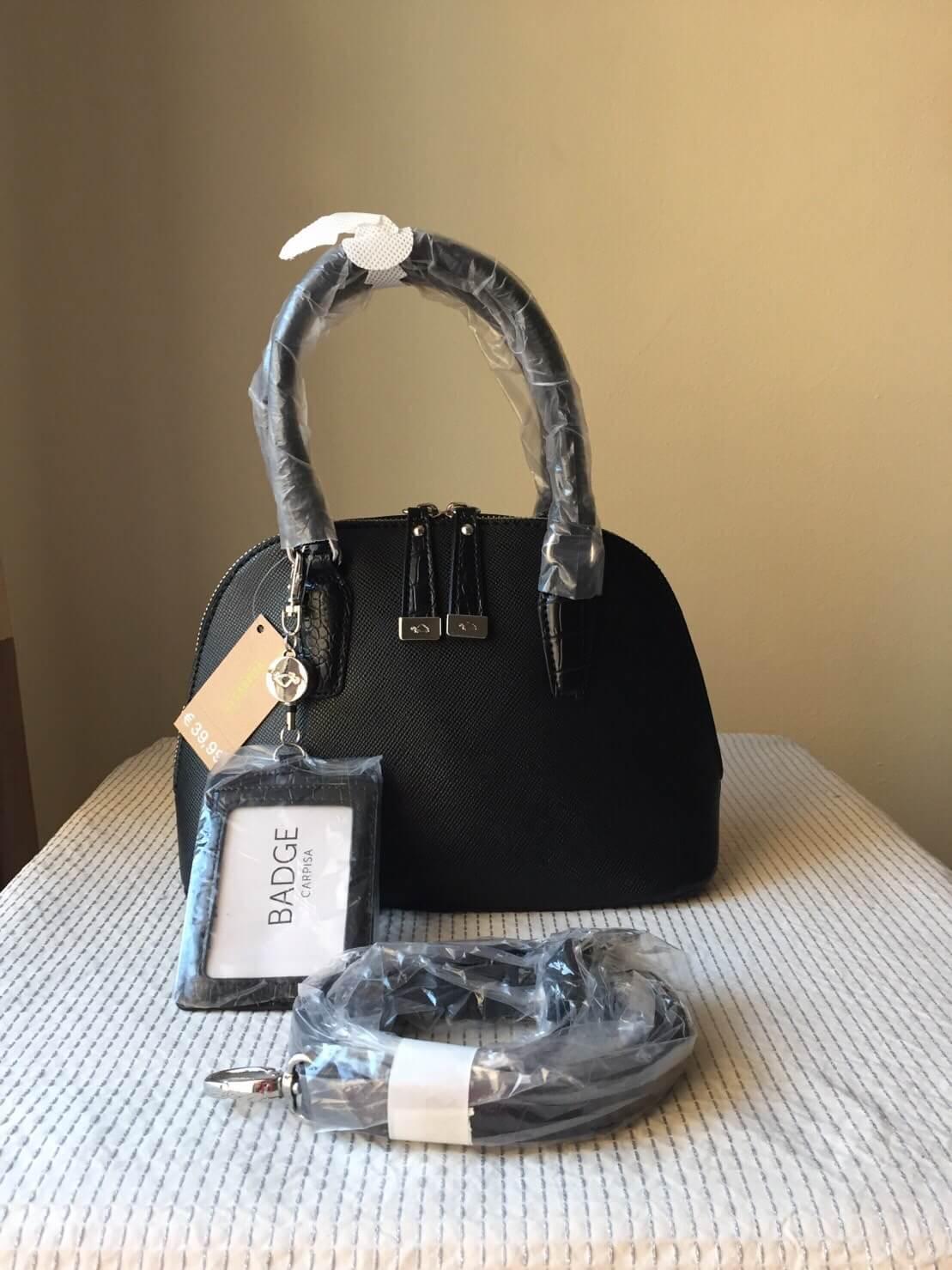 กระเป๋าหนัง Carpisa แบรนด์ดังจากอิตาลี หนัง saffiano ใบเล็ก