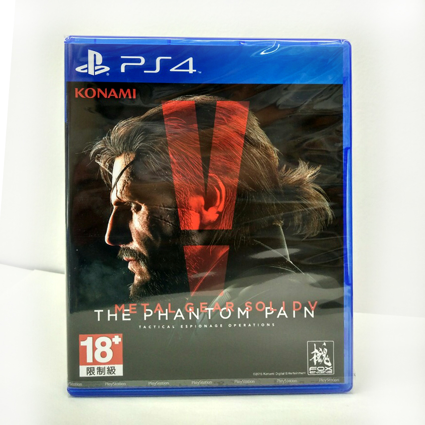 PS4 Metal Gear Solid V : The Phantom Pain Zone 3 Asia / English