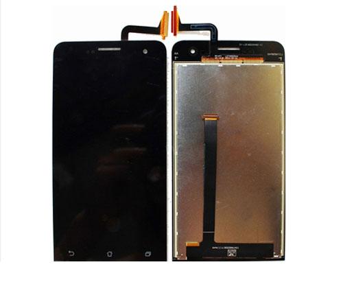 ราคาหน้าจอชุด+ทัสกรีน Asus Zenfone 5 อะไหล่เปลี่ยนหน้าจอแตก ซ่อมจอเสีย สีดำ