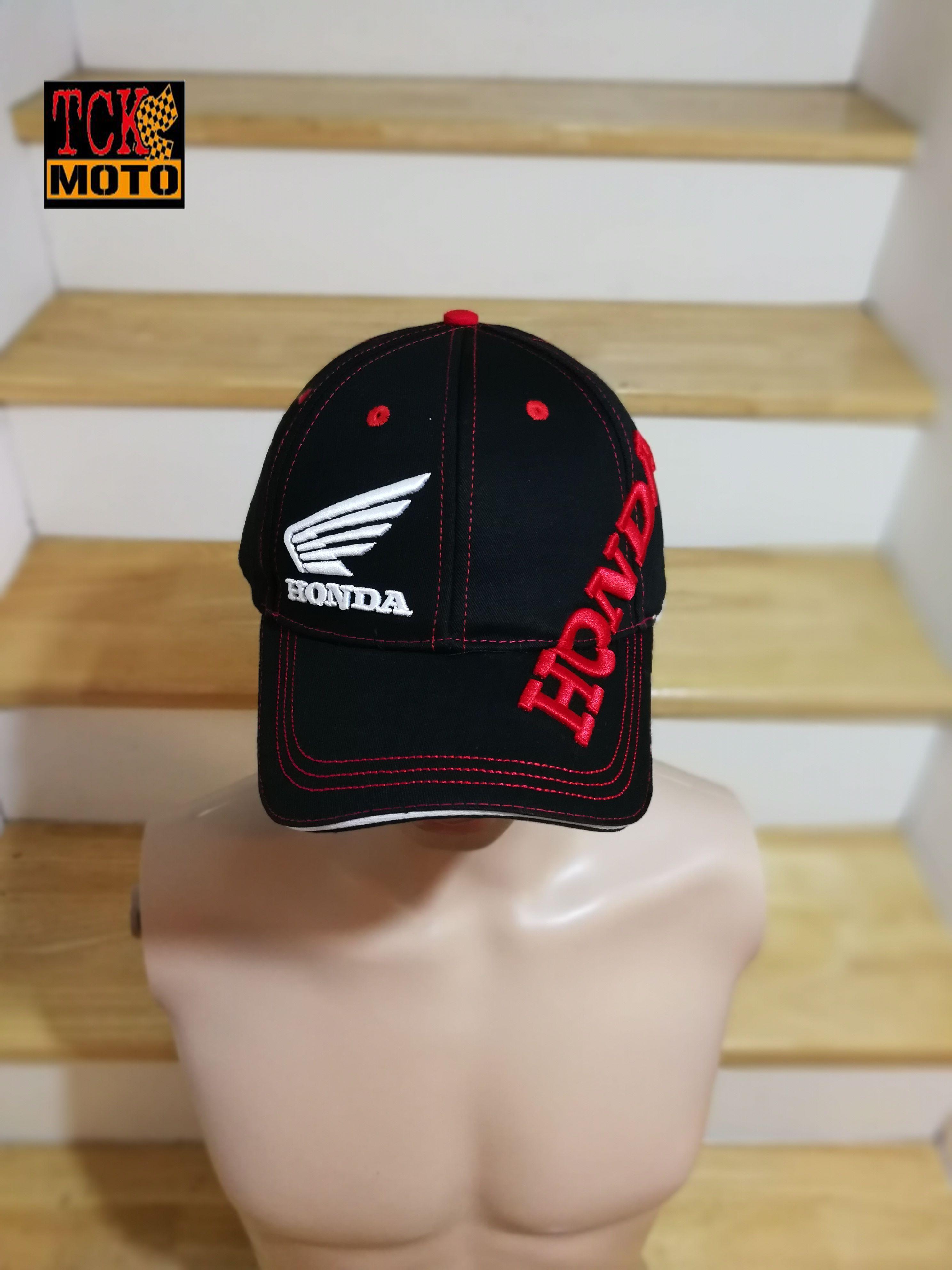หมวก MotoGp Honda ดำ