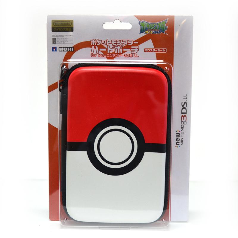 กระเป๋าใส่เครื่อง New3DSXL ลายมอนสเตอร์บอล ยี่ห้อ Hori™ 3DS-501 ของแท้ จากญี่ปุ่น