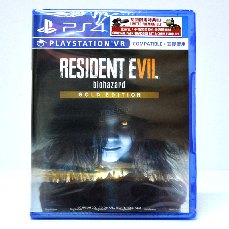 PS4™ Resident Evil 7: biohazard [Gold Edition] Zone 3 Asia / English (PSVR Compatible) ราคา 1290.- // ส่งฟรี