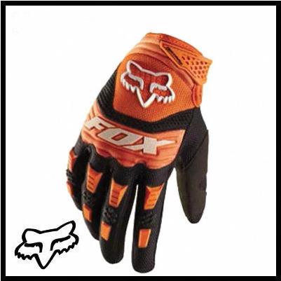 ถุงมือขี่มอเตอร์ไซค์ FOX สีส้ม