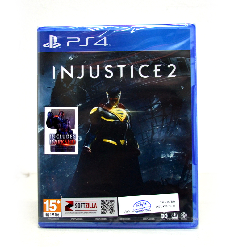 PS4™ Injustice 2 Zone 3 Asia / English ราคา 1690.- New Arrival