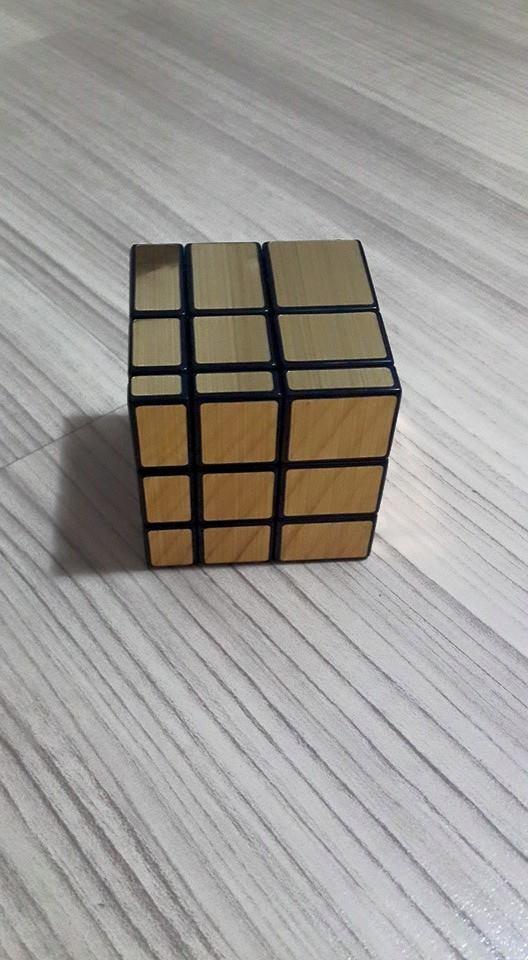 ShengShou Mirror Cube Gold 3x3x3