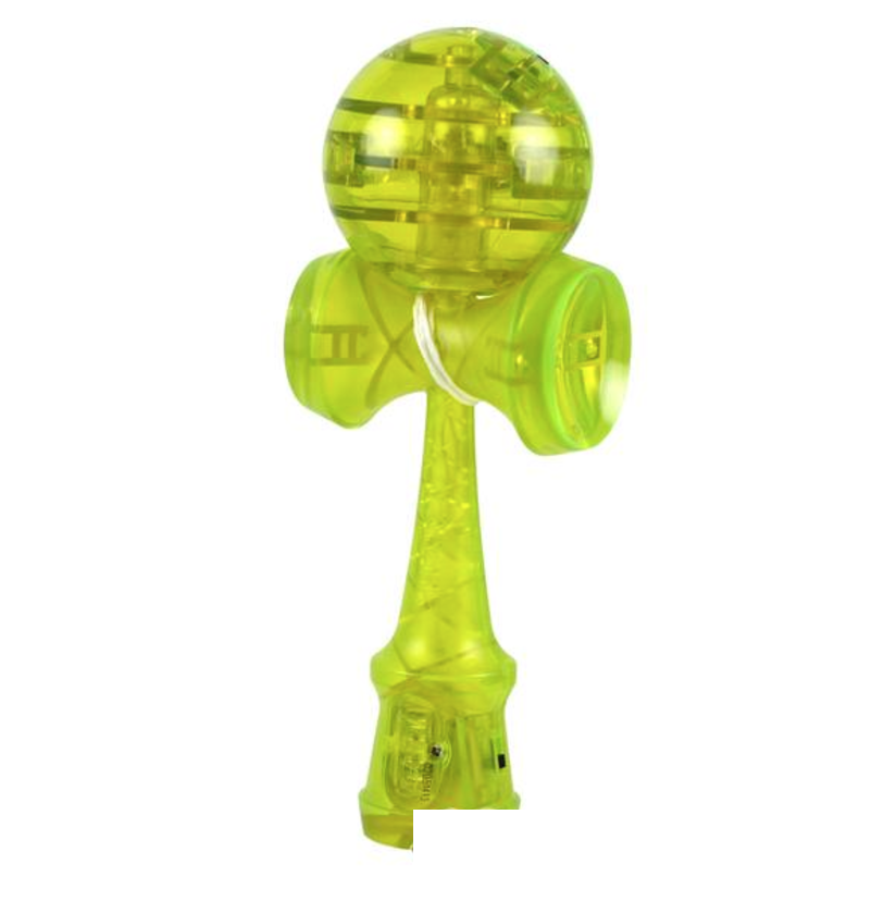 Yoyofactory Kendama Catchy LED Green