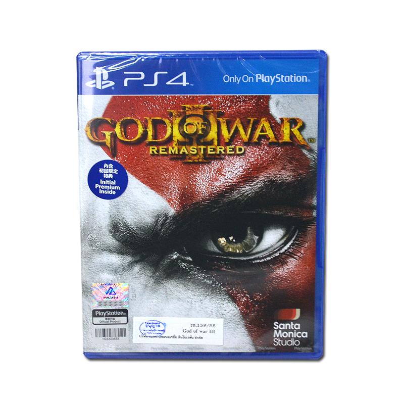 PS4 God of War III Remastered / English