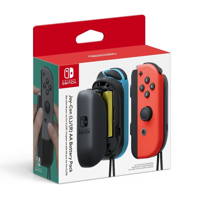 จอยคอน รังถ่าน AA 2 ก้อน ++ Nintendo Switch™ Joy-Con (L/R) AA Battery Pack