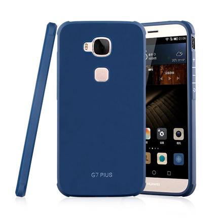(พรีออเดอร์) เคส Huawei/G7 Plus-เคสนิ่มสีเรียบ