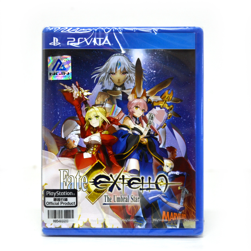 PSV™ Fate/Extella: The Umbral Star Zone 3 Asia/ Voice:JP, Sub:En