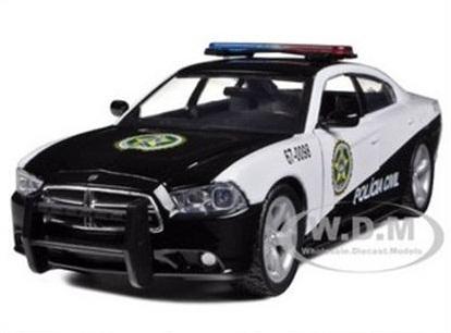 พรีออเดอร์ รถเหล็ก รถโมเดล US รถตำรวจ 2011 DODGE CHARGER RIO FAST FIVE สเกล 1:24