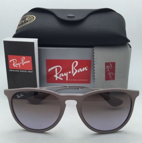 Ray-Ban RB4171 6000/68 Erika Sand Frame w/ Brown Gradient Violet