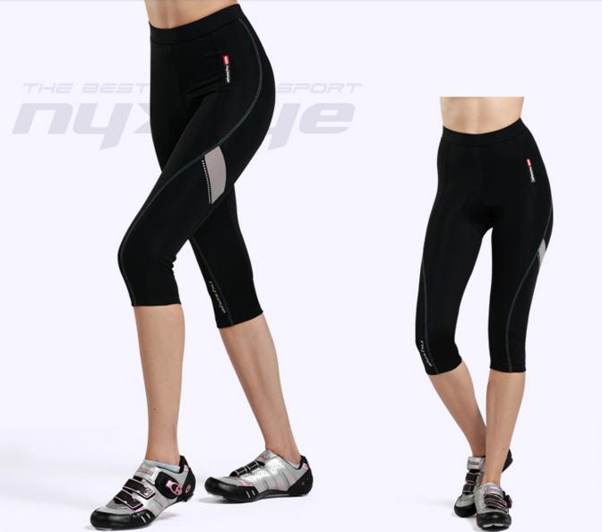 กางเกงปั่นจักรยานขายาวผู้หญิง 3/4 ส่วน NYXEYE : PL-8031