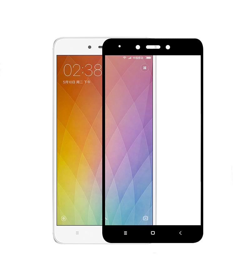 Xiaomi Redmi Note 4X ฟิล์มกระจกนิรภัยเต็มจอ 9H+ MOCOLO (ขอบดำ)