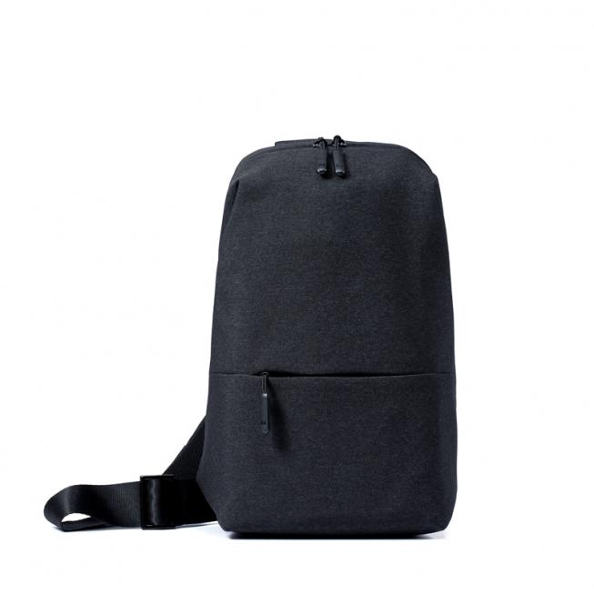 Xiaomi Multifunctional Urban Leisure Chest Pack - กระเป๋าเป้สะพายข้างเซี่ยวมี่ เออร์เบิน(สีเทาดำ)