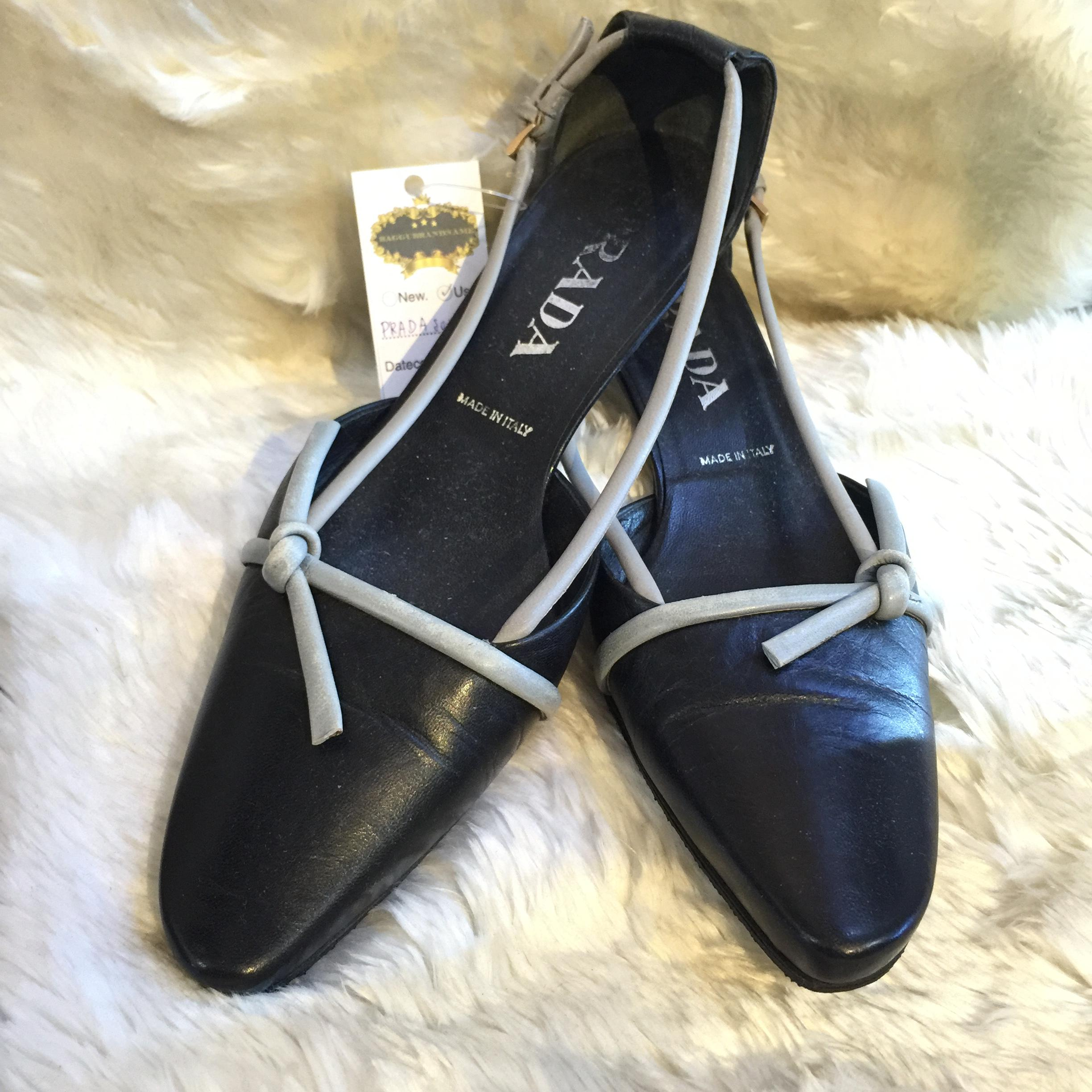 PRADA black shoes