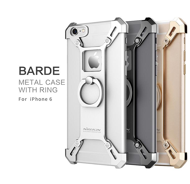 เคสมือถือ Apple iPhone 6/6S รุ่น Barde Metal Case With Ring