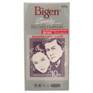 Bigen Speedy Hair color conditioner บีเง็นสปีดดี้ครีมเปลี่ยนสีผม No.855 น้ำตาลม่วง