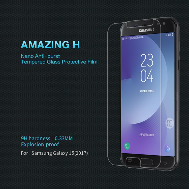 ฟิล์มกระจกนิรภัย Samsung Galaxy J5 Pro (2017)
