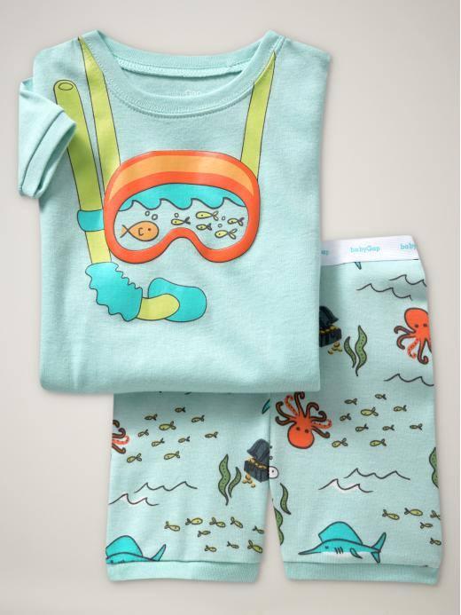 Baby GAP เสื้อชุดใส่สบาย ลายนักดำน้ำ