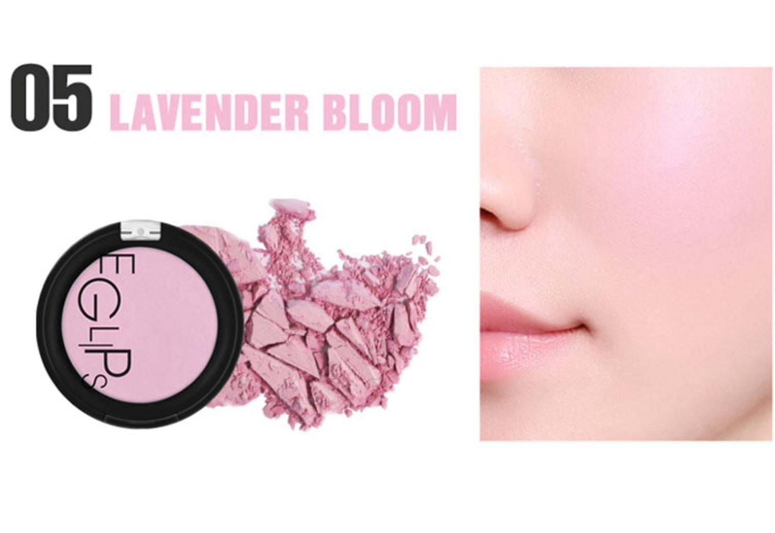 ++พร้อมส่ง++Eglips Apple Fit Cream Blusher 4g สี C5 Lavender Bloom