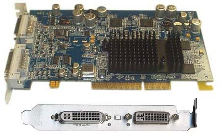 630-6630 ATI Radeon 9600 XT 128MB (DVI/ADC) (8X AGP) Video Card PMG5 (Late 2004),(June 2004)