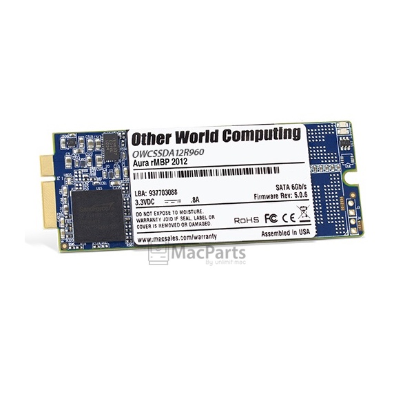 OWC Flash Storage 960Gb For MacBook Pro Retina 2012-Early 2013