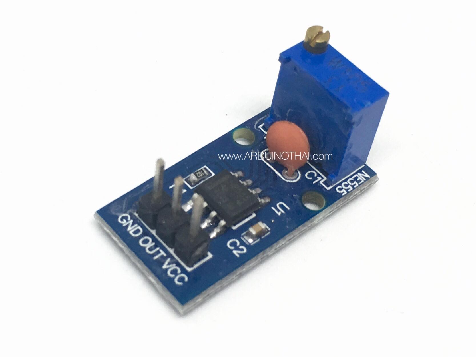 NE555 Frequency Adjustable Pulse Module