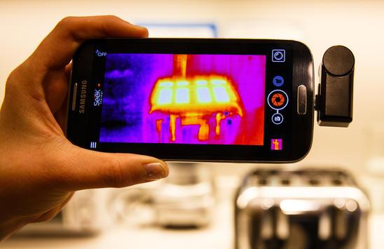 กล้องถ่ายภาพความร้อน seek thermal