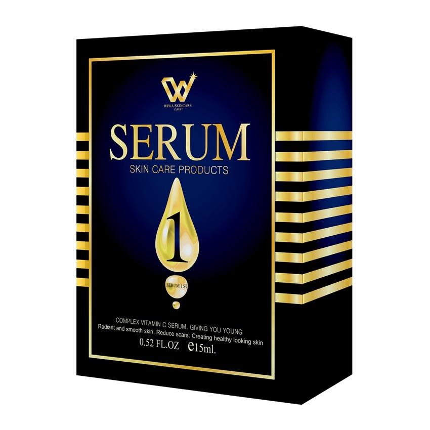 SERUM 1 by WIWA SKINCARE EXPERT เซรั่ม วัน เซรั่มวิตามิน ซี 3 สายพันธุ์ ที่ดีที่สุด ที่สุดของความกระจ่างใส สลายฝ้า กระ บอกลาปัญหาผิว สวยใสไม่ต้องรอนาน