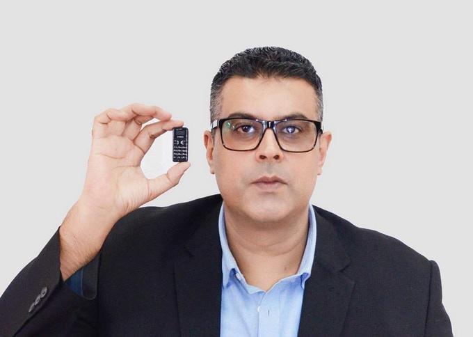 โทรศัพท์มือถือที่เล็กที่สุดในโลก Zanco Tiny T1