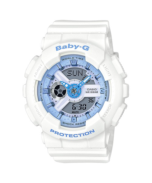 Casio Baby-G Beach Pastel Color series รุ่น BA-110BE-7A