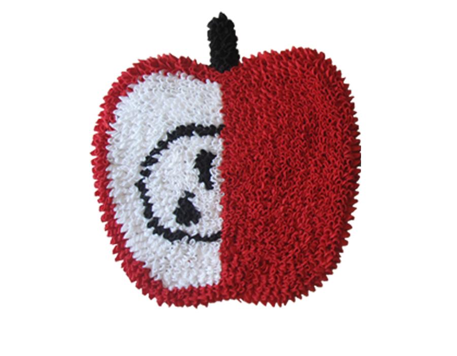 พรมแฟนซี ลายแอปเปิ้ล