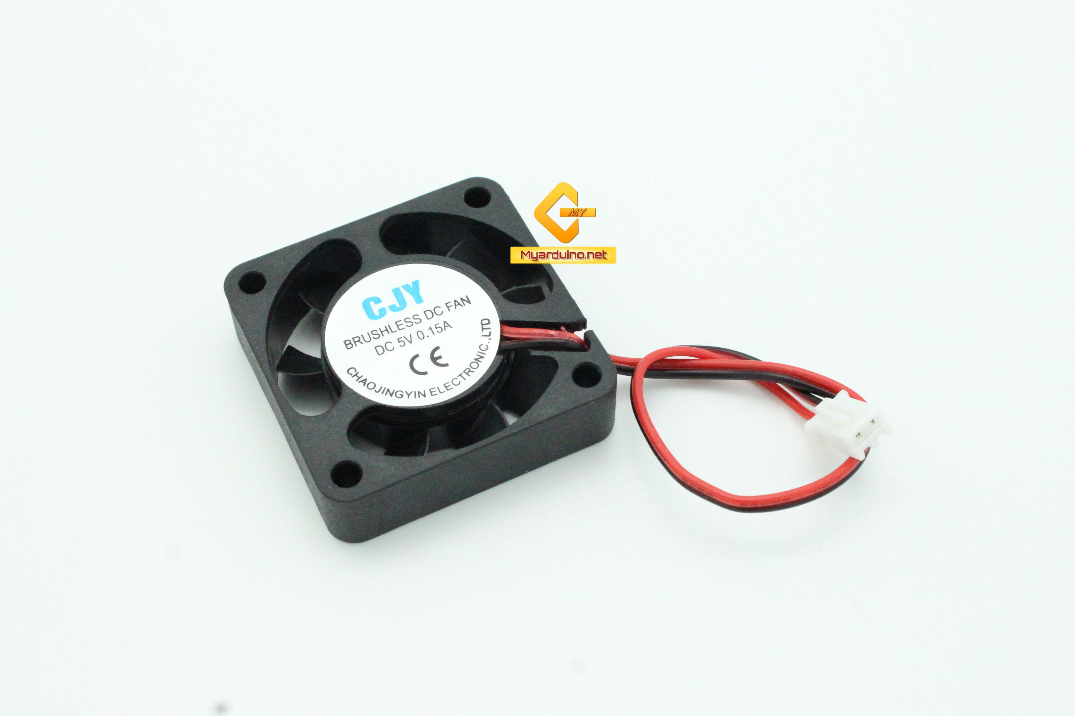 พัดลมระบายความร้อน 2สาย 4cm*4cm 5V