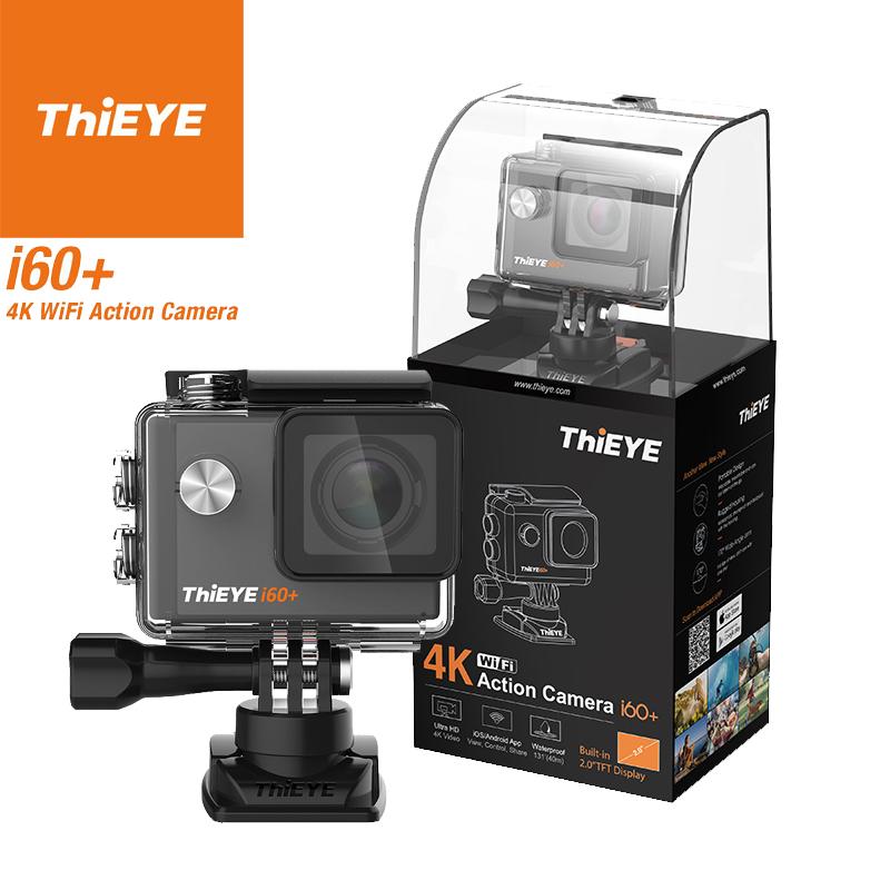 ThiEYE i60+ 4K Ultra HD Sports Camera (Black)