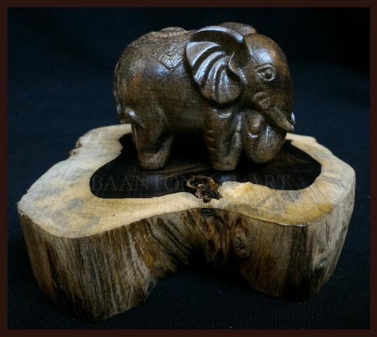 ฐานไม้มะเกลือแอฟริกา(Ebony)3