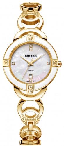 นาฬิกาผู้หญิง Rhythm รุ่น L1502S02, Diamond Sapphire L1502S 02, L1502S-02