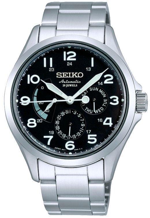 นาฬิกาผู้ชาย Seiko รุ่น SARW015J, PRESAGE Classic Power Reserve Automatic Sapphire