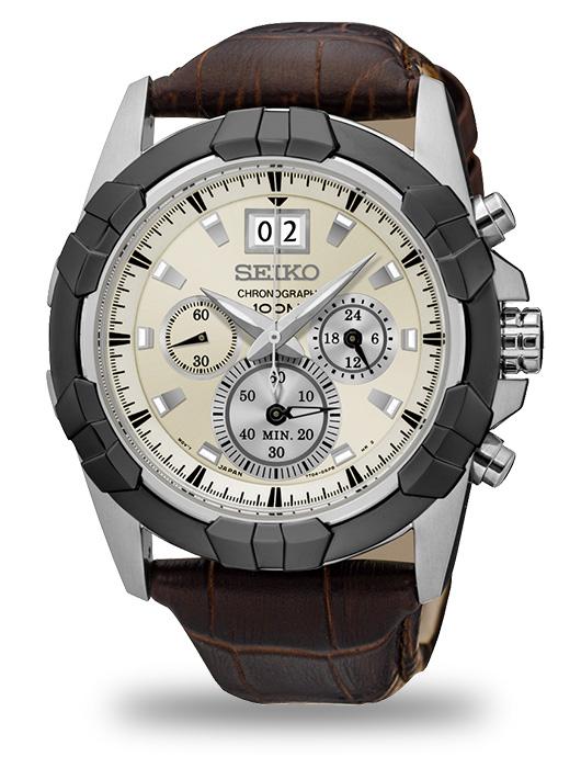 นาฬิกาผู้ชาย Seiko รุ่น SPC196P1, Lord Chronograph Quartz
