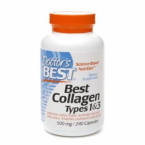 Doctor's Best Best Collagen Types 1 & 3 240 caps (500 mg)