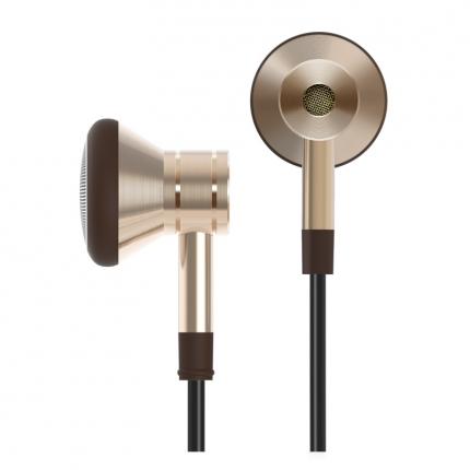 1MORE Design Piston On-ear Earphones - สีทอง