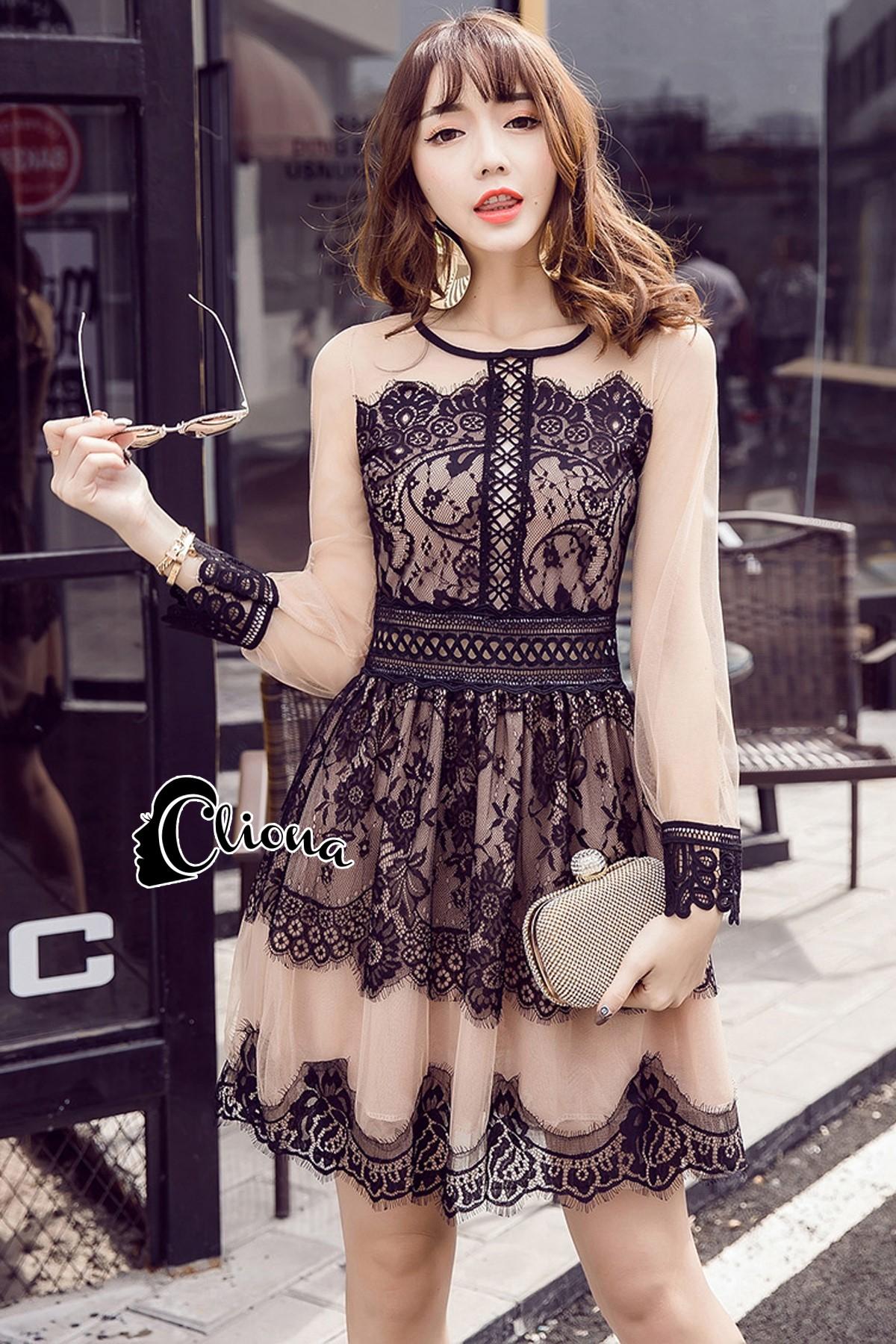 Cliona madeMadona Luxury Lace Dress
