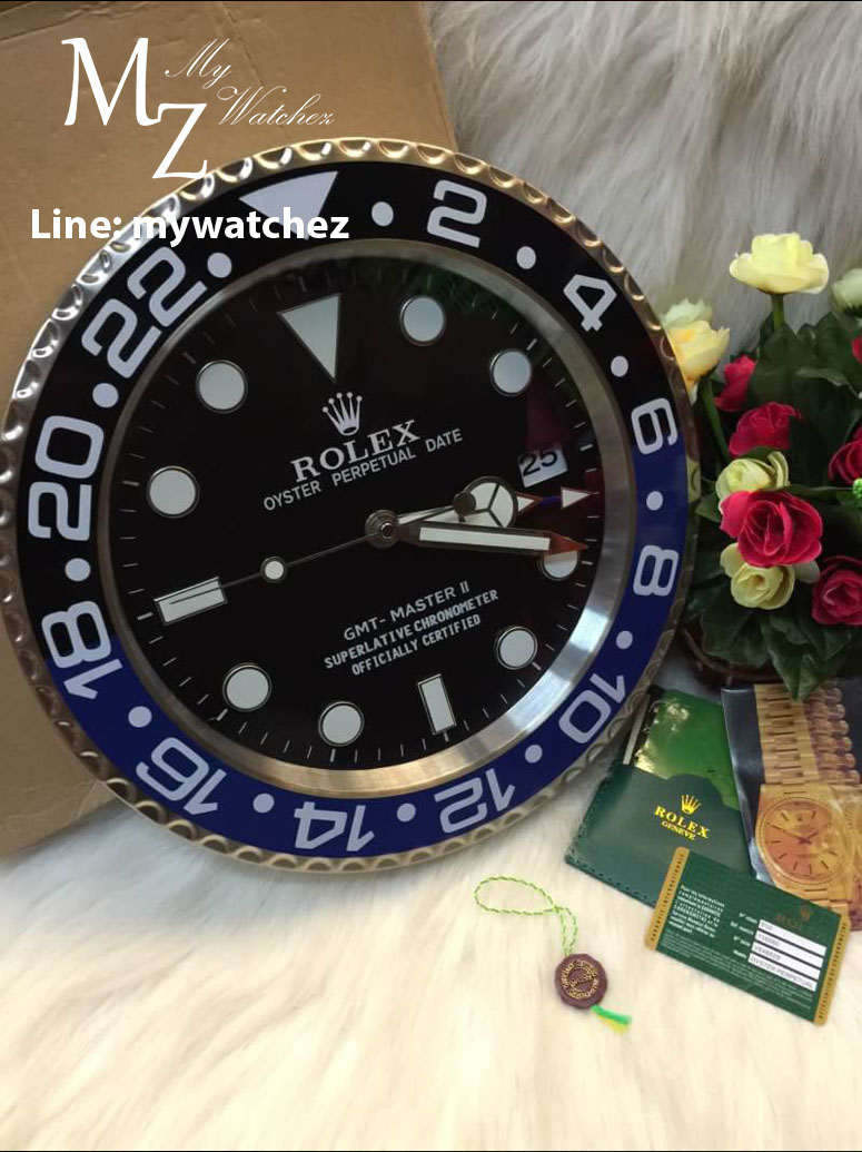 Rolex gmt wall clock images home wall decoration ideas wall clock rolex gallery home wall decoration ideas rolex gmt master batman wall clock inspired by amipublicfo Images