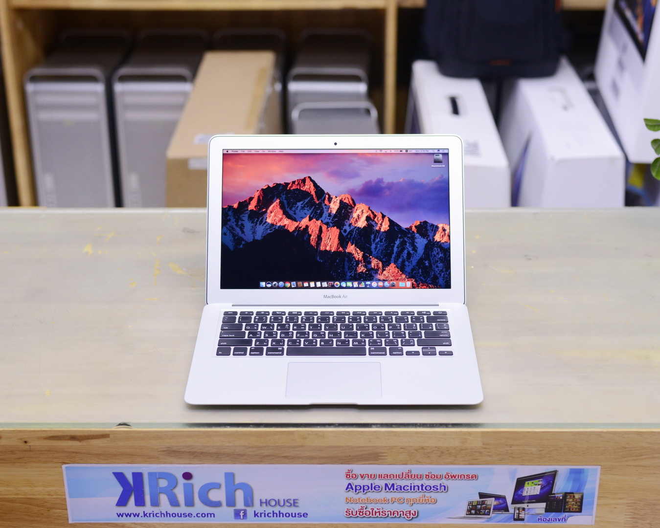 MacBook Air (13-inch, Mid 2017) - Core i5 1.8GHz RAM 8GB SSD 128GB - Apple Warranty 21-08-2018