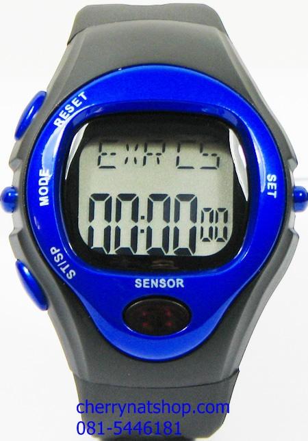 นาฬิกาวัดชีพจรและวัดปริมาณการเผาผลาญแคลอรี่ รุ่น C สีน้ำเงิน