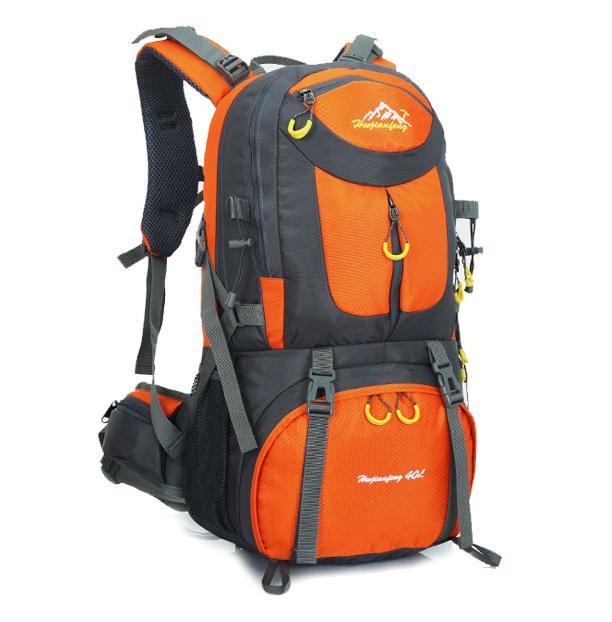 NL17 กระเป๋าเดินทาง ส้ม ขนาดจุสัมภาระ 50 ลิตร