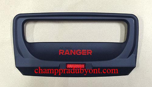 ถ้วยรองมือเปิดท้ายกระบะ FORD RANGER 15-16 ดำ (V.2)