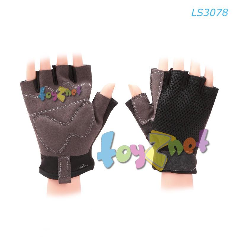 Liveup ถุงมือออกกำลังกาย (ดำ-เทา) no.LS3078