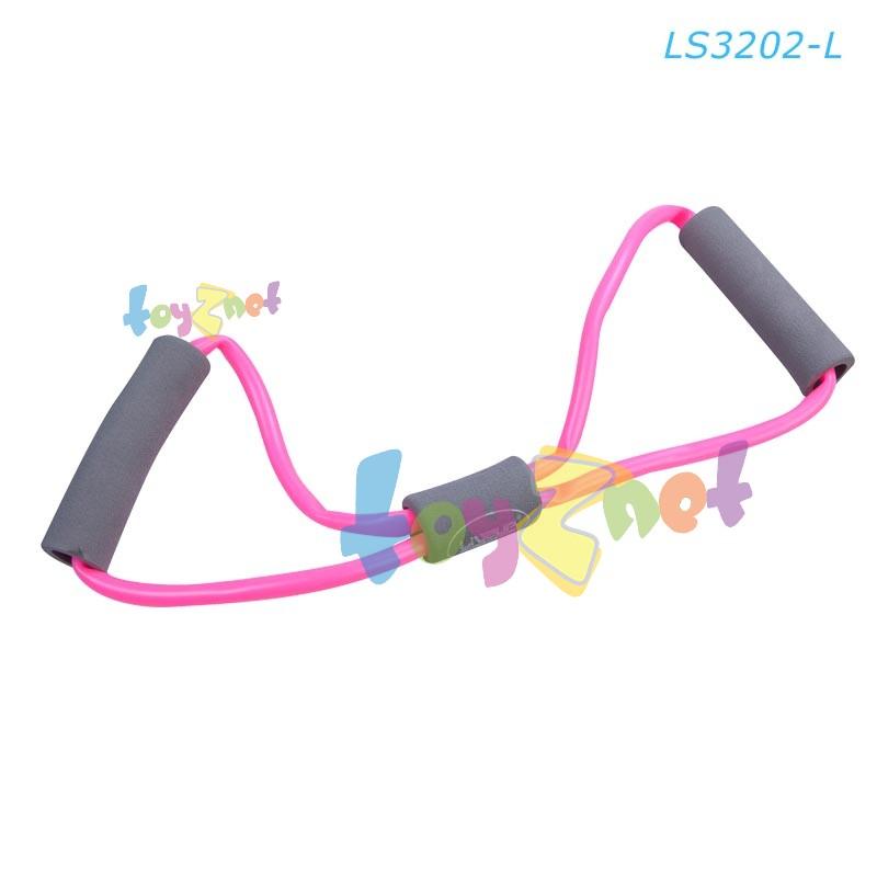 Liveup ยางยืดออกกำลังกาย ระดับเบา (สีชมพู) รุ่น LS3202-L